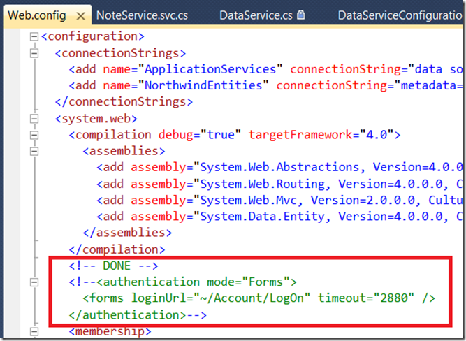 Be Careful with Data Services Authentication + Batch Mode