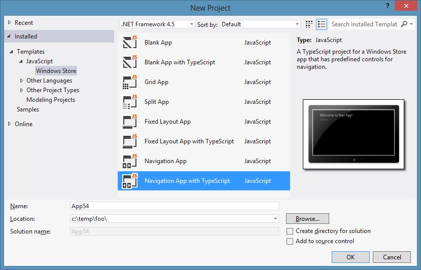TypeScript Templates for Windows 8 - Marquee de Sells: Chris\'s ...